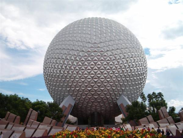 Epcot Spaceship Earth