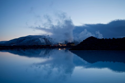 Bláa lónið or Blue Lagoon in the evening- Most surreal places to visit -Part 3