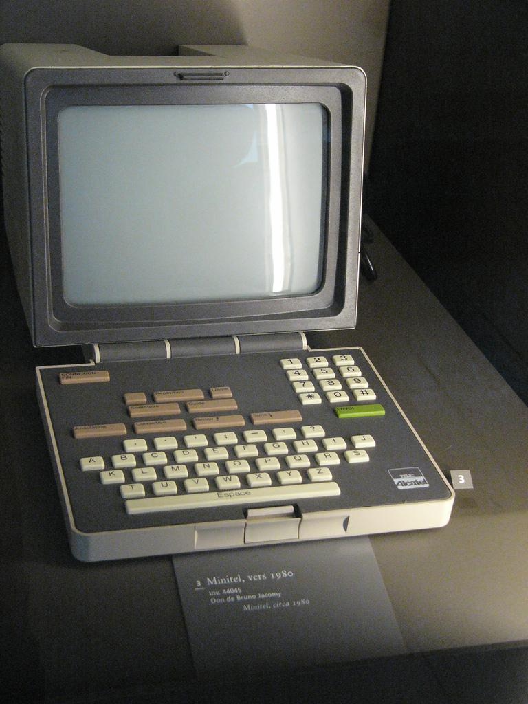 1981 Alcatel Minitel terminal (see also http:/...