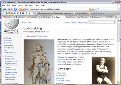 Web browser - Simple English Wikipedia, the free encyclopedia