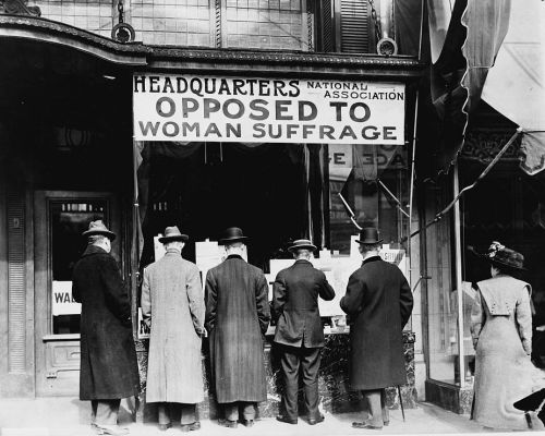 Anti-Suffragists - Harris & Ewing