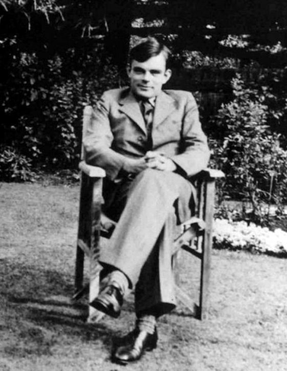 Alan Turing (Wikimedia Commons)