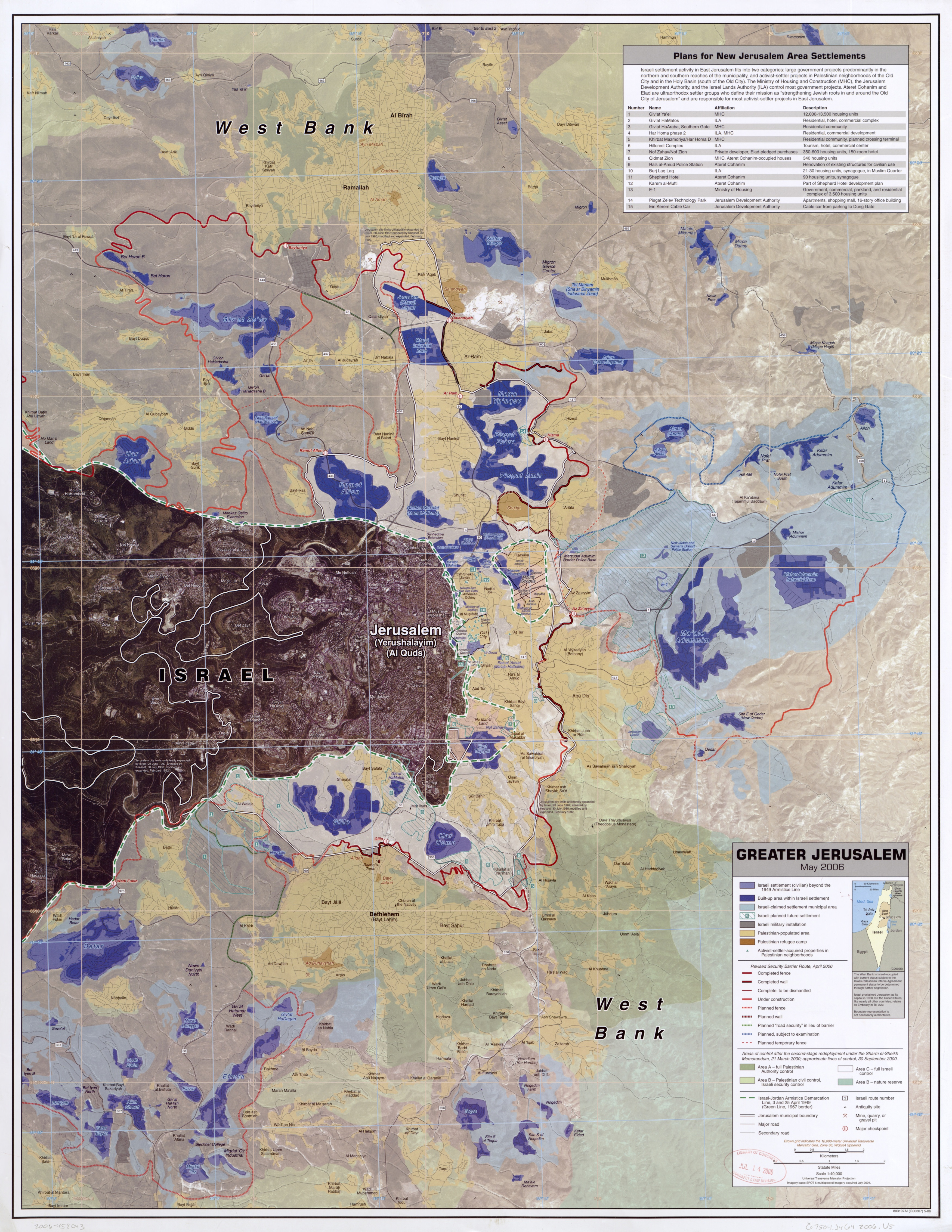 File Greater Jerusalem May 2006 CIA remote sensing map 3500px jpg     File Greater Jerusalem May 2006 CIA remote sensing map 3500px jpg