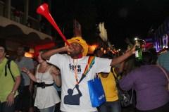 Vuvuzela blower, Final Draw, FIFA 2010 World Cup