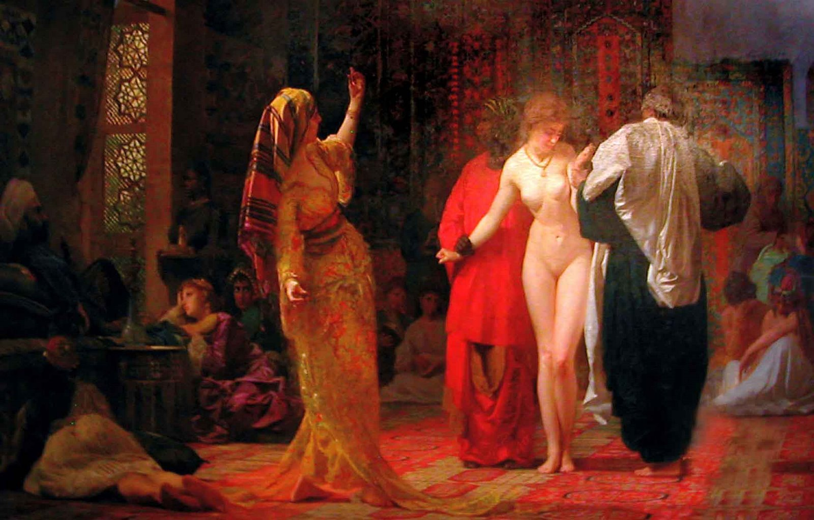naked slave market