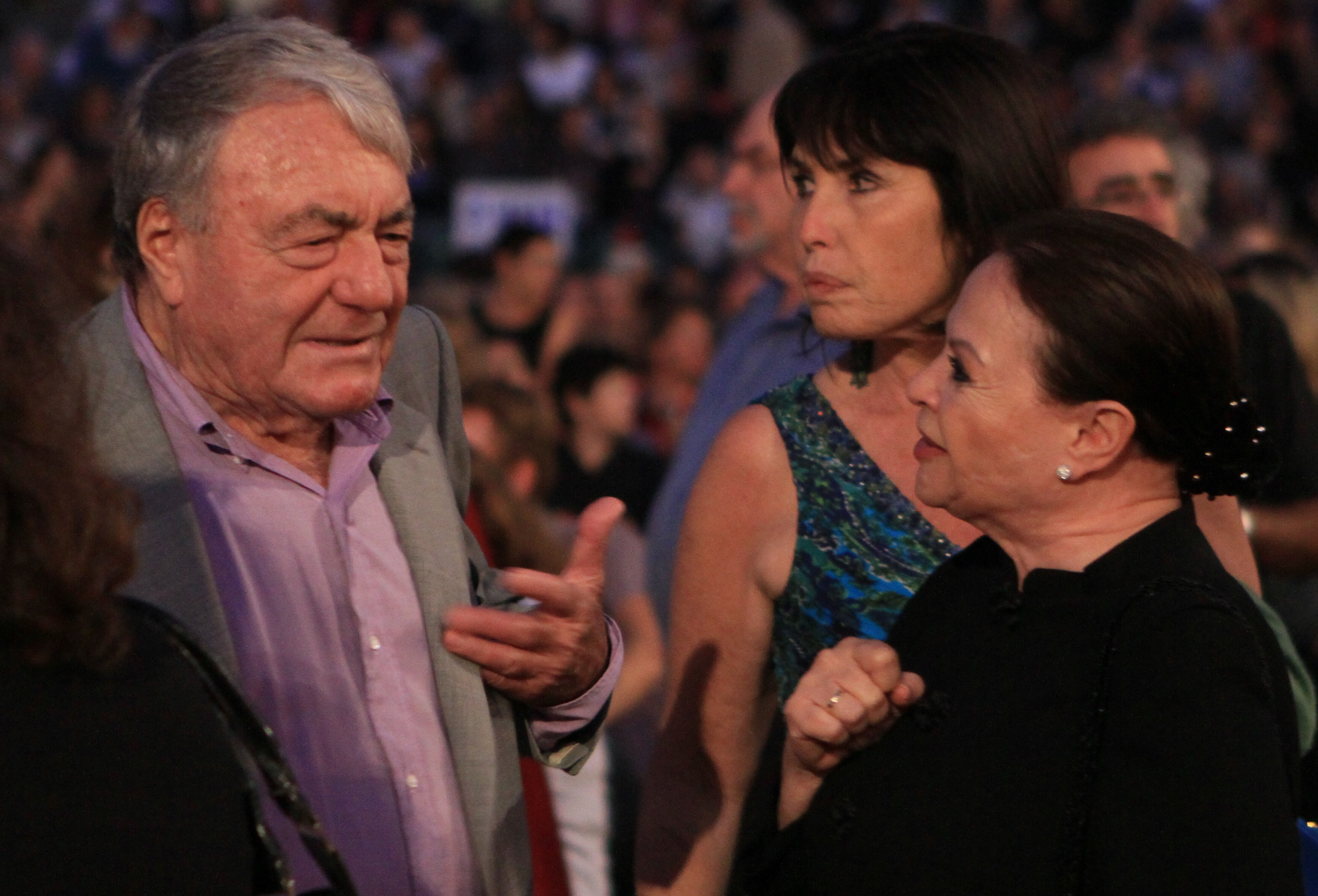 File Gila Almagor and Claude Lanzmann At Jerusalem Film Festival jpg     File Gila Almagor and Claude Lanzmann At Jerusalem Film Festival jpg