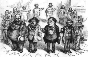 Thomas Nast's famous depiction of the