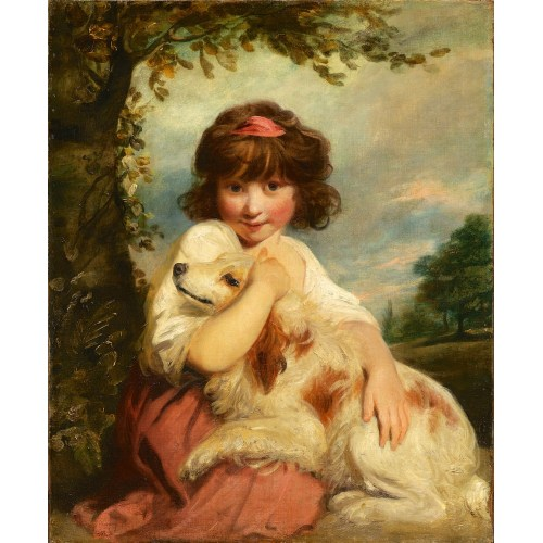 Medium Crop Of A Girl And Her Dog