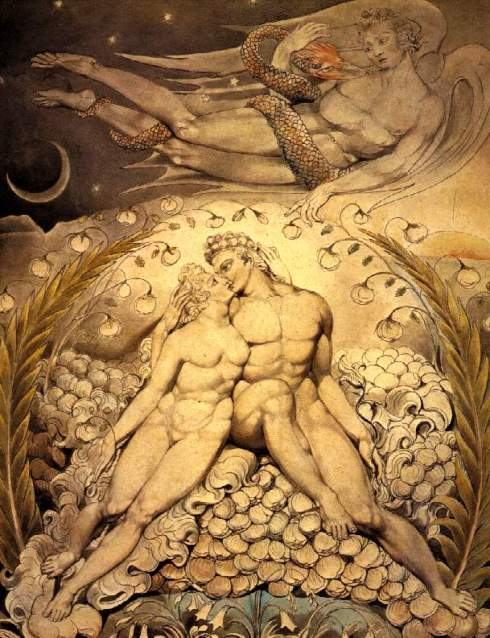 Adam and Eve by William Blake