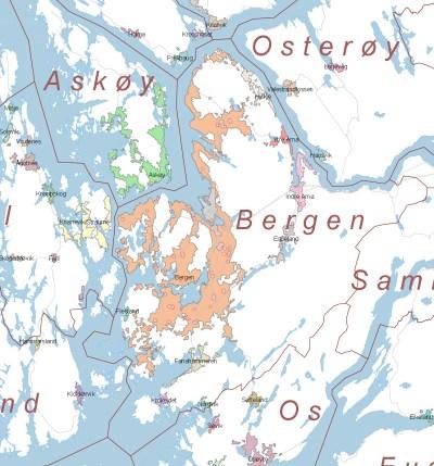 Bergen (tettsted) – Wikipedia