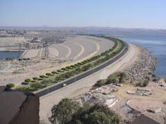 A Barragem de Assuão