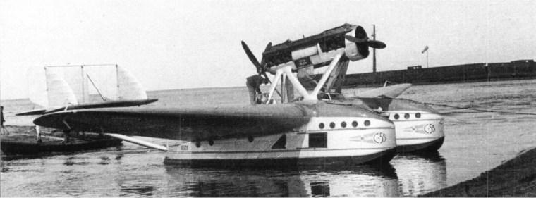 Aeroflot Savoia Marchetti S.55P [Mode de Transport] lHydravion Savoia Marchetti S.55