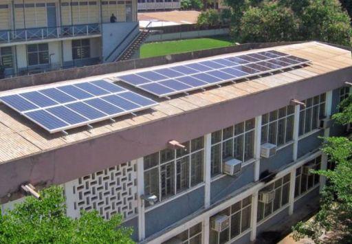 Solar panels, KNUST