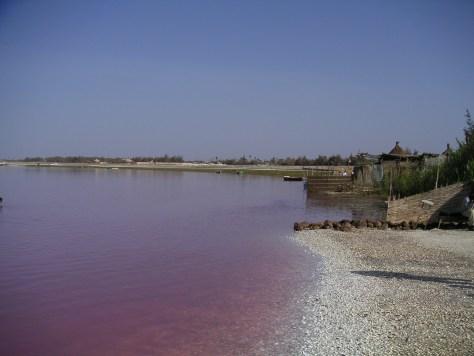Lac Rose in Senegal. Lake Retba- Most surreal places to visit- Part 3
