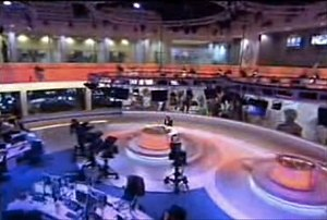 Al Jazeera English newsroom