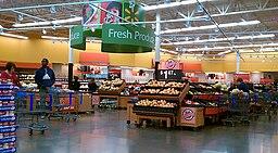 Laurel Walmart Produce Section