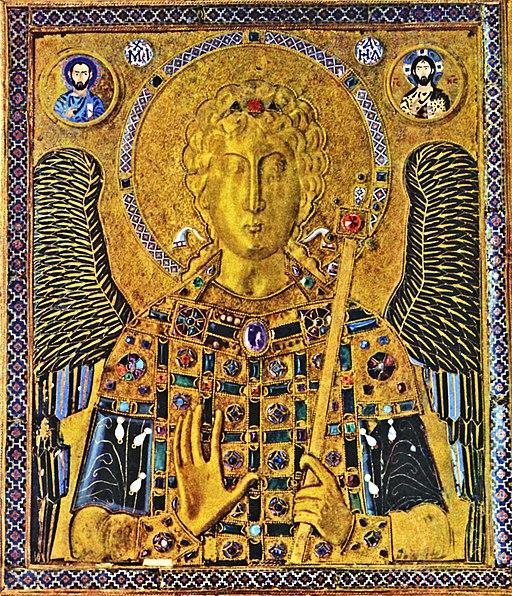 Meister der Ikone des Erzengels Michael 001 adjusted