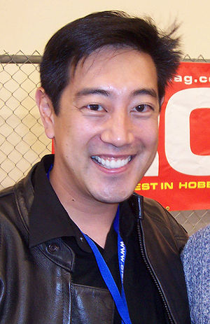 Grant Imahara from Mythbusters. Cropped image ...