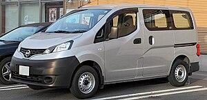 Nissan NV200 Vanette van