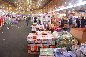 The Birmingham Wholesale Markets at 4am