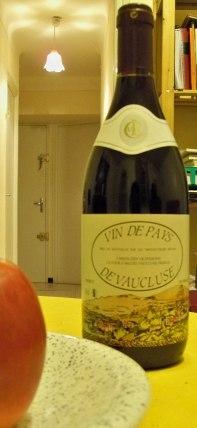 Français : Vin de Pays du Vaucluse (France)