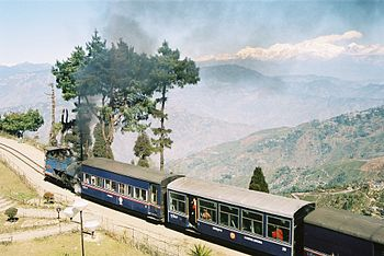 The Darjeeling Himalayan Railway, India, a UNE...