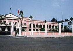 Palácio Presidêncial de São Tomé - Antiga Mansão do Governador