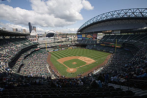 Safeco Field in Seattle.