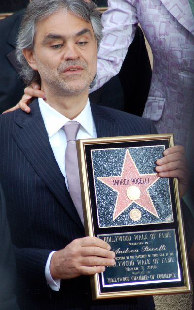 List of awards and nominations received by Andrea Bocelli - Wikipedia