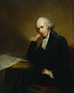 Painting of James Watt, the noted inventor by ...