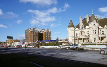Woodward Avenue in Detroit, Michigan