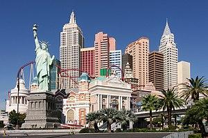 English: Hotel / Casino New York-New York in L...