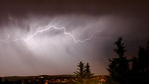 Lightning cloud to cloud (aka)