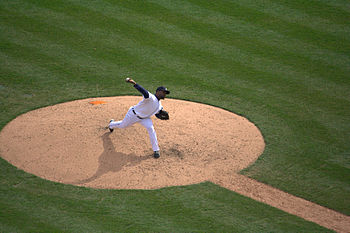 Fernando Rodney pitching for the Detroit Tigers.