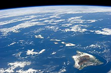 Hawaii  island    Wikipedia Hawaii from space  26 January 2014