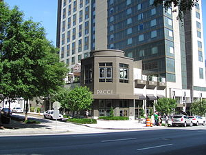 Pacci Ristorante, Midtown Atlanta Georgia, May...