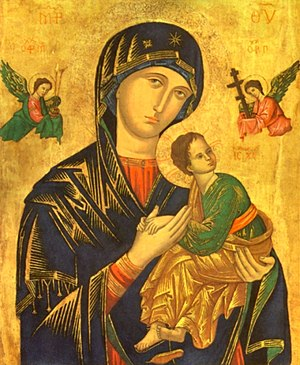 Our Mother of Perpetual Help, a 15th Century M...