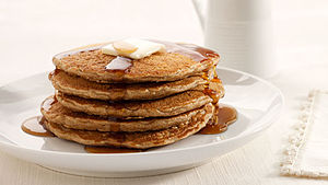 Stack of original pancakes