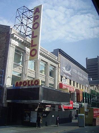 Apollo Theater, 125th Street, Harlem, New York...
