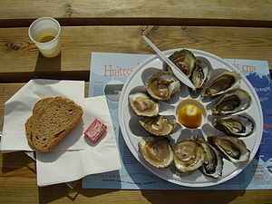 Oysters, Austern, France