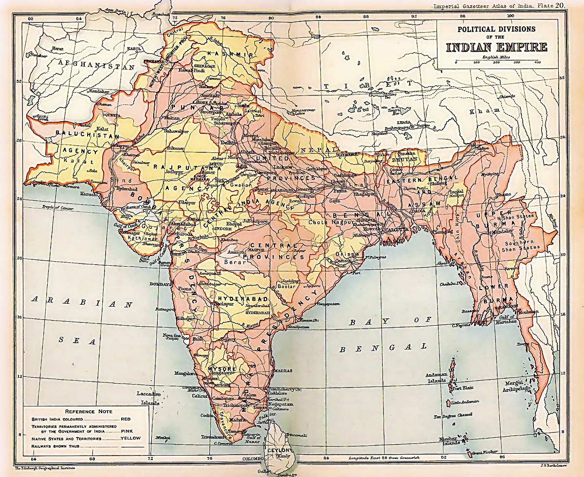 Image result for Lord Curzon on geographical boundaries in India