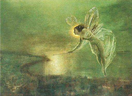 John Anster Fitzgerald, Spirit of the Night