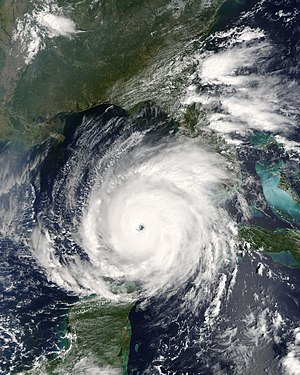 Hurricane Rita on September 21 at 1910 UTC