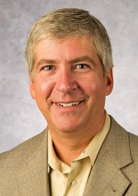 English: American businessman Rick Snyder