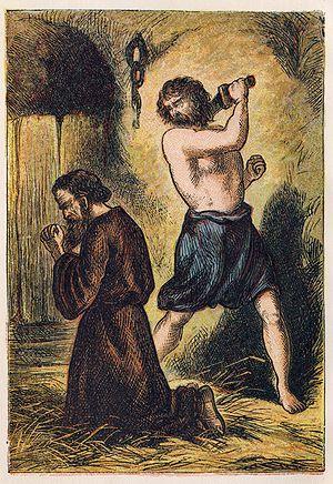 """English: """"Martyrdom of St. Paul"""", fr..."""