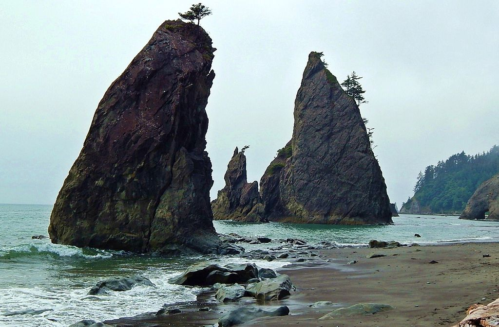 Sea stacks, Olympic National Park