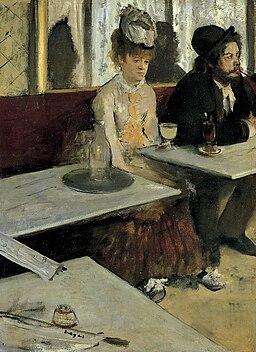 """""""L'Absinthe"""", par Edgar Degas (1876)"""
