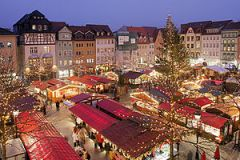 Weihnachtsmarkt (Christmas market) in Jena, Th...