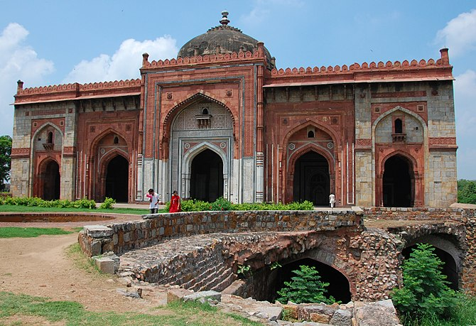 Qila Kuhna Masjid inside Purana Qila (Old Fort...