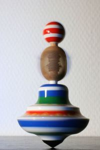 Spinning top, bought in Prague